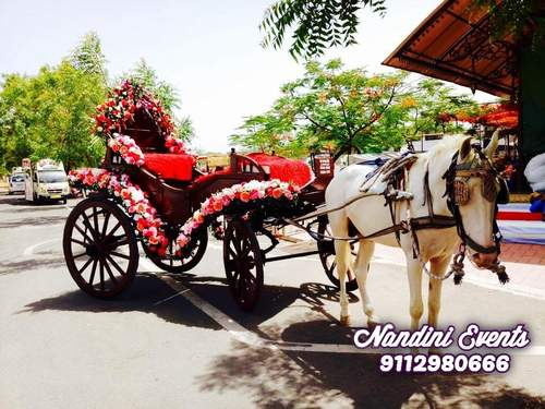 WEDDING ENTRY BUGGY RIDES