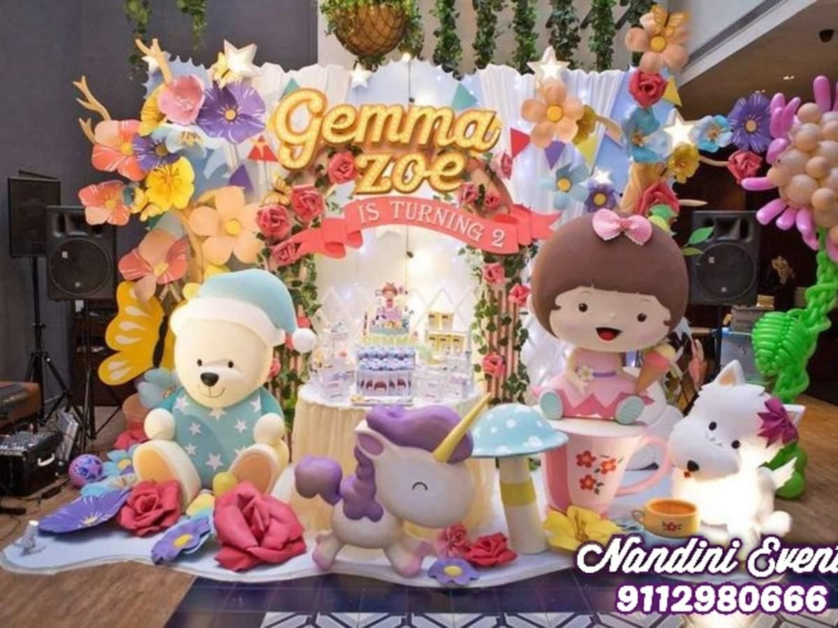 Birthday Decoration Baby Shower Decorations Nandini Events
