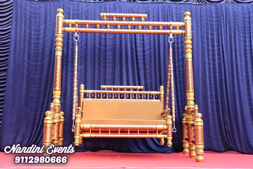 Baby Shower Swing  Dohale Jevan Jhula  On Rent